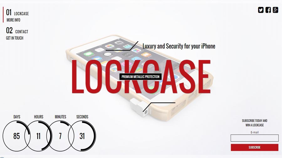 Website getlockcase.com soon