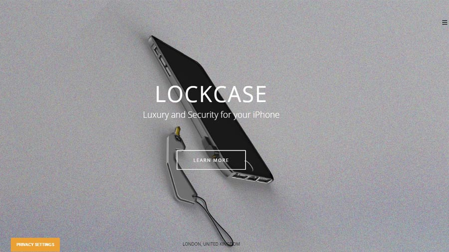 Website getlockcase.com